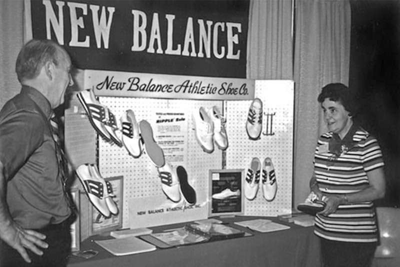 The old days of New Balance