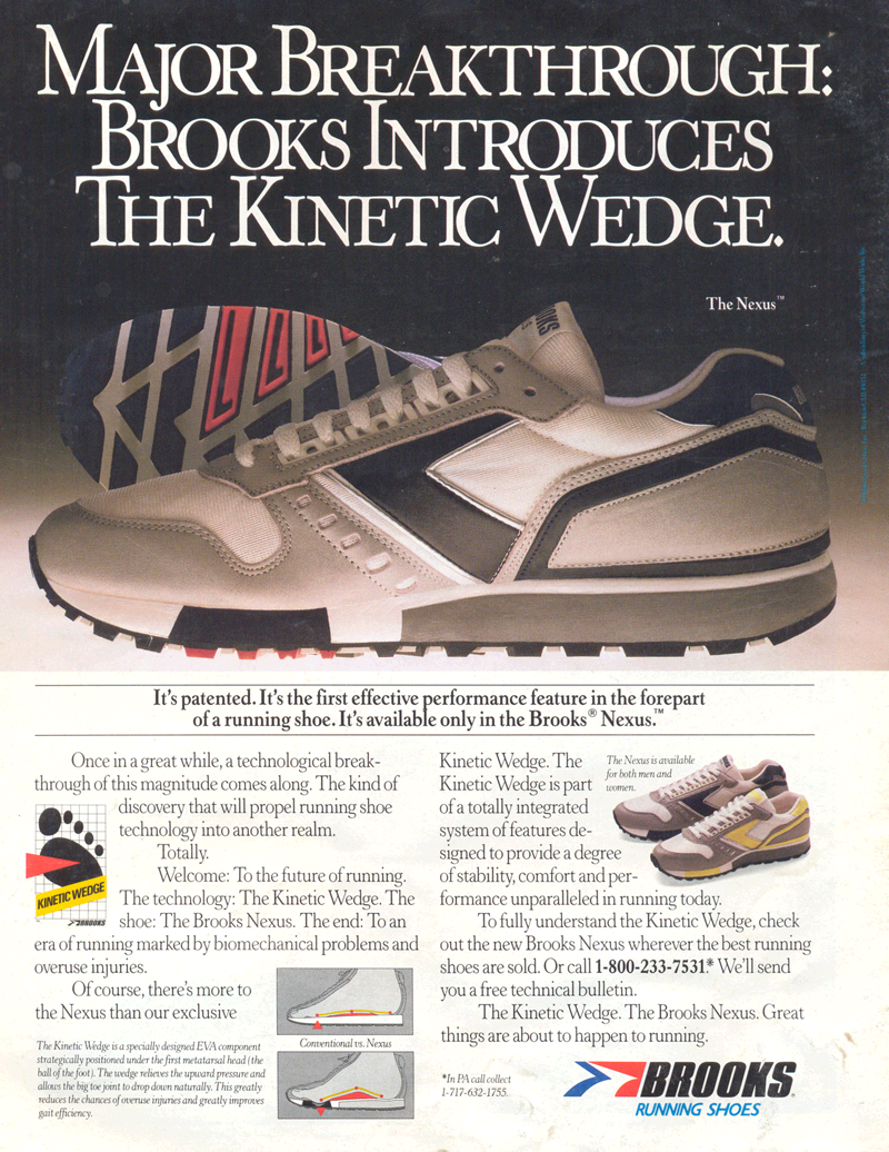Brooks Kinetic Wedge
