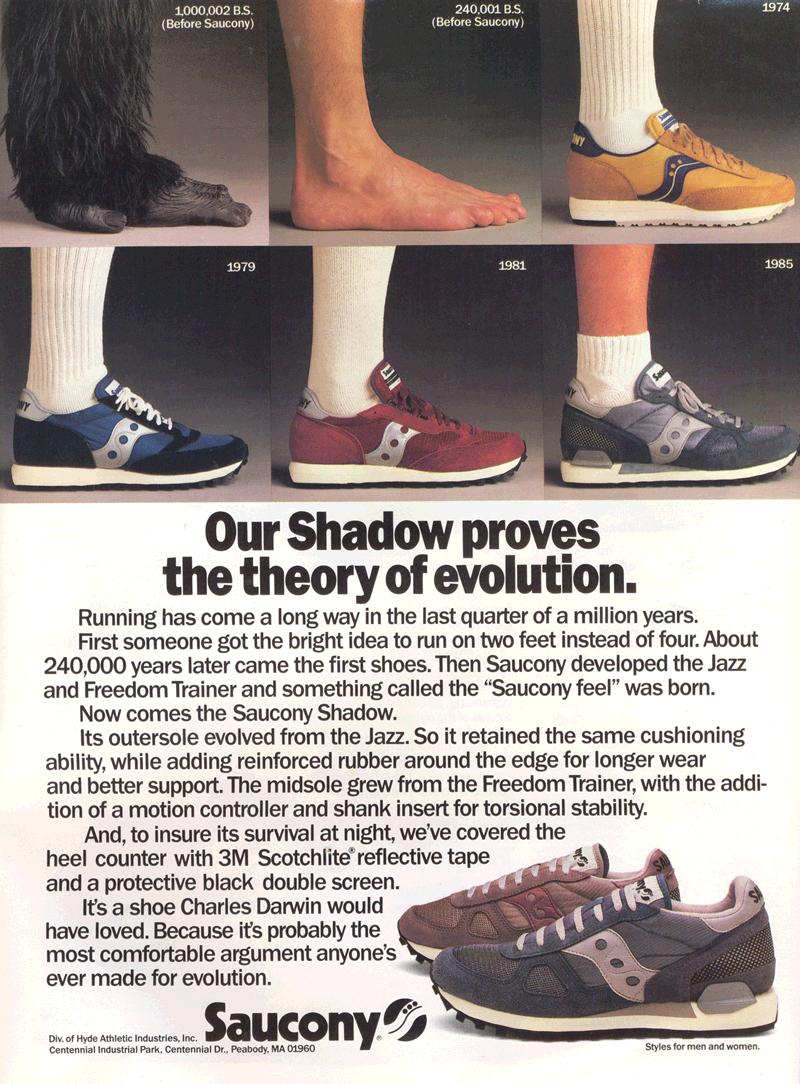 Saucony Shadow training shoe
