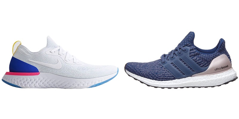 Adidas Ultra Boost vs Nike Epic React.