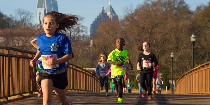 Run Faster - train like a child!
