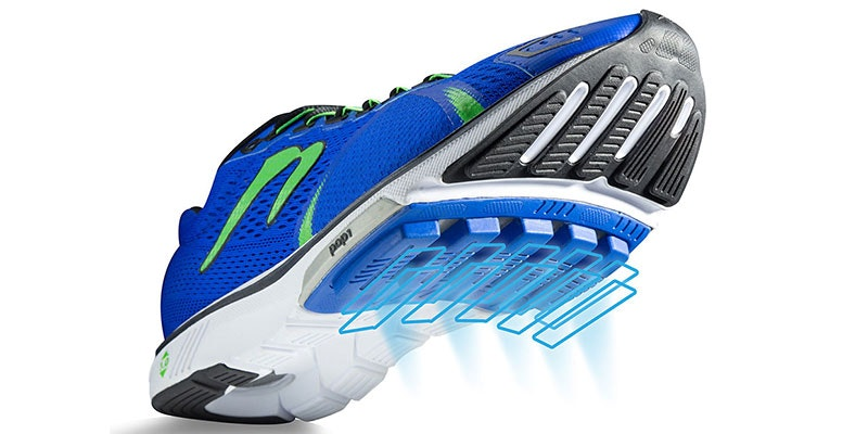 Running shoe technologies