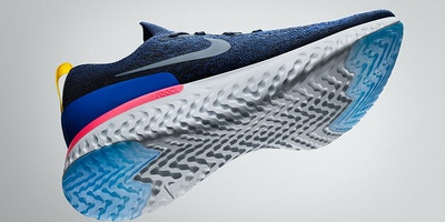 Nike Epic React launches a new nike midsole foam