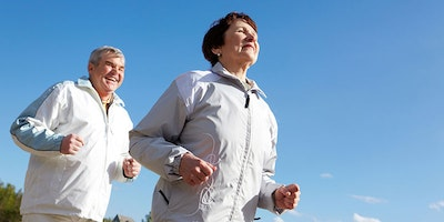 Running helps you live longer!